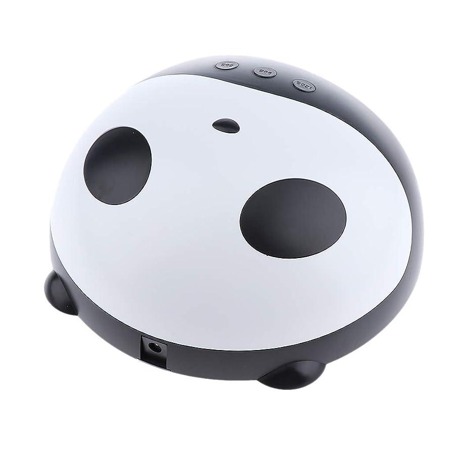 コンサルタントヤングレンダリングB Baosity LEDネイルランプ UV硬化 ネイル乾燥 かわいいパンダ ネイルサロン