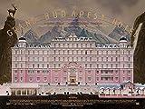 Tainsi ASHER LS-119 Poster, Motiv Grand Budapest Hotel,