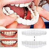 8STR9ds Simulación de blanqueamiento de Dientes Funda de Silicona para dentadura de Dientes Funda Superior Inferior, TRU Smile Set de Brackets de blanqueamiento de Tercera generación,14PAIR