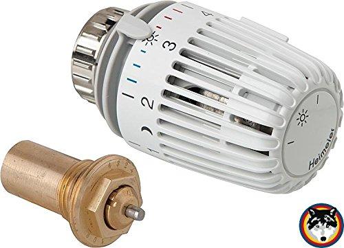 Heimeier Thermostatkopf K + Ventileinsatz voreinstellbar