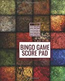 """Bingo Game Score Pad: Game Record Book, Score Keeper, Fouls, Scoring Sheet, Indoor Games recorder Notebook Gifts for Friends, Family, Bingo lovers and ... 8""""x10"""", 120 pages. (Bingo Score Journal)"""