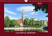 Landshut erleben (Wandkalender 2022 DIN A4 quer): Spaziergang durch eine alte Residenzstadt - mit PLANER-Funktion (Geburtstagskalender, 14 Seiten )