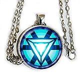 iron arc reactor - Iron Man Arc Reactor inspired pendant necklace - HM