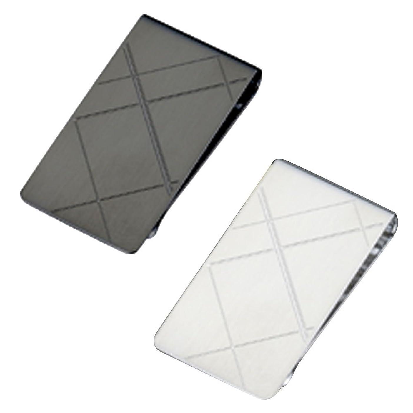 弾丸電子レンジ石のマネークリップ 財布 メンズ オール Made in Japan
