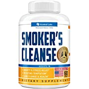 Smoker's Cleanse - Quit Smoking Aid & Respiratory Support - Made in USA - Lung Cleanse and Detox for Smokers - Start New Life Today with All-Natural Lung Support Supplement - Vegan-Friendly -60 caps
