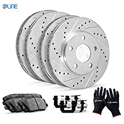 R1 eLine Series Rotors & Brake Pads Kit