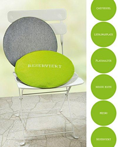 Gilde Filz 6Sitz Büro chair-with Lieblingsplatz deutschsprachigen Slogan