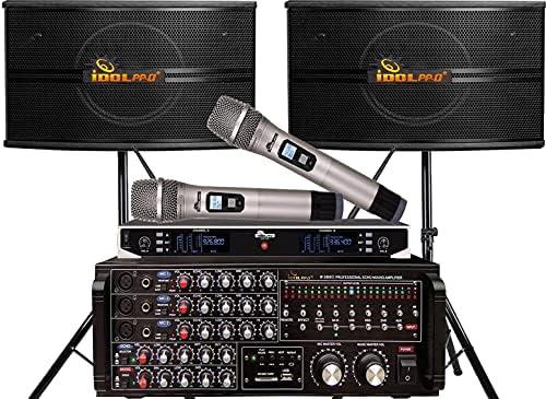 Top 10 Best idolpro karaoke mixer amplifier