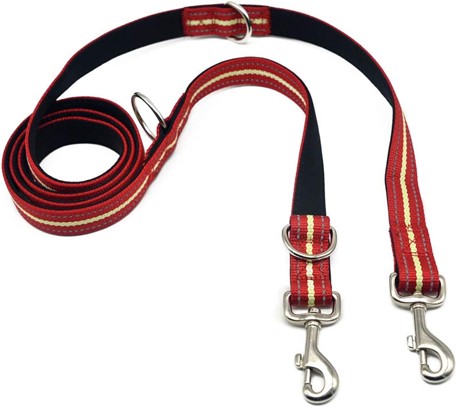 Hhxx9 Pet Traction Rope Multifunctional Dog Traction Rope Outdoor Sports,Red,200X2.5Cm