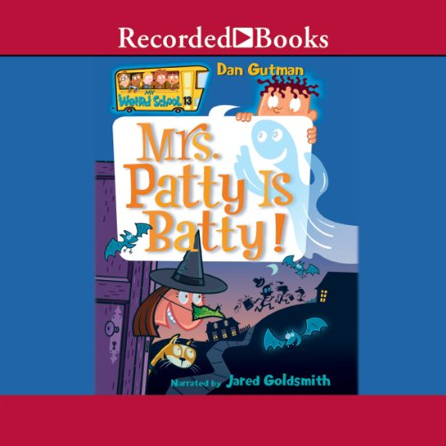 Mrs. Patty Is Batty audiobook cover art