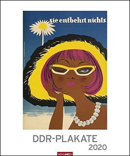 DDR - Plakate Edition. Wandkalender 2020. Monatskalendarium. Spiralbindung. Format 46 x 55 cm