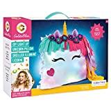 Make It Real GoldieBlox - DIY Glowing Unicorn Pillow STEM DIY Arts & Crafts - Includes Sewing Kit and Color Changing Lights