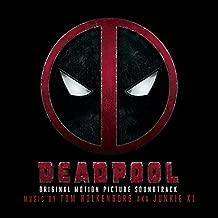 Deadpool Original Soundtrack Album Red/Black Starburst