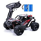 MaxTronic Remote Control Car, 25MPH High Speed 4WD Racing Drift RC Cars, 1:18 Fast Powerful Off Road-All Terrain 2.4Ghz Electric Rock Crawler, Rechargeable RC Monster Truck Toy Gift for Adults & Kids