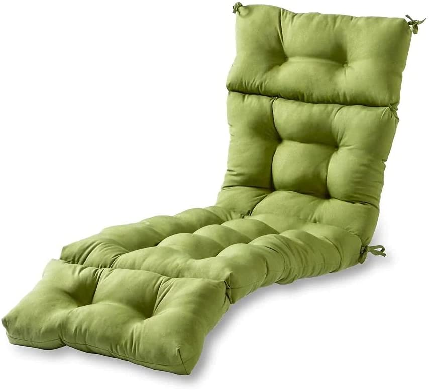 Limited time for free shipping YJYDD Chaise Max 42% OFF Lounge Cushion Fashions Home Outdoor Solid