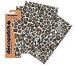 Carta Decopatch stampa giraffa (confezione da 3fogli)