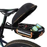 Fahrrad Satteltasche, 9L Fahrradkoffer-Gepäckträger Gepäckträger Mit Gepäckträger Fahrrad...