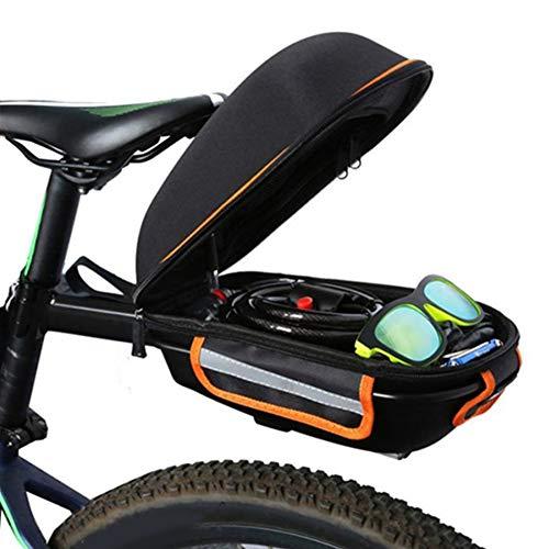 Fahrrad Satteltasche, 9L Fahrradkoffer-Gepäckträger Gepäckträger Mit Gepäckträger Fahrrad Sattel Tasche Radfahren Sitz Frachttasche Für MTB Rennrad Carrier Alle Fahrrad