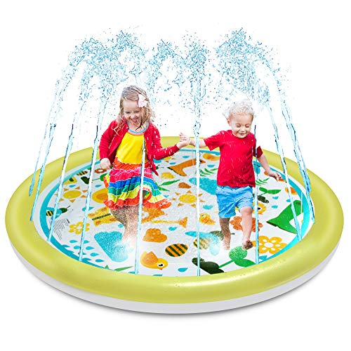 OMWay Splash Pad for Toddlers, Kids 69""