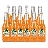 Jarritos Mandarin Natural Flavor Soda With Real Sugar 12/12.5 fl. oz. glass bottles (12-Pack)