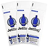 Jet Bag Bold - The Original ABSORBENT Reusable & Protective Bottle Bags - Set of 3 - MADE IN THE USA