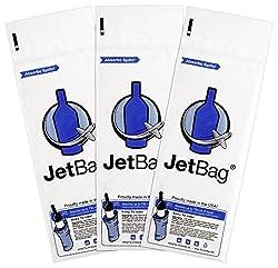 Jet Bag Bold - The Original ABSORBENT Reusable & Protective Bottle Bags