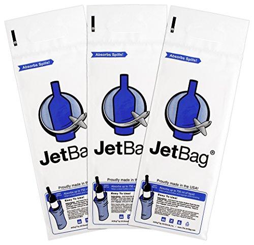 Jet Bag Bold - The Original ABSORBENT Reusable & Protective Bottle Bags - Set ...