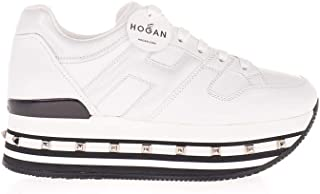 Luxury Fashion | Hogan Women HXW5340T548N7XB001 White Leather Sneakers | Autumn-winter 20