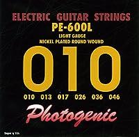 PhotoGenic フォトジェニック エレキギター弦 PE-600L ライト (010-046) PE-600L
