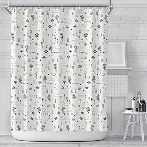 Cortina de Ducha con diseño de Alpaca, Cortina de Ducha Impermeable, poliéster, Dibujos Animados, serigrafía, baño, decoración del hogar, Cortina