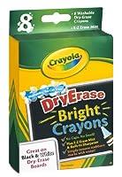 Crayola Dry Erase Brightクレヨン8ct (パックof 12)