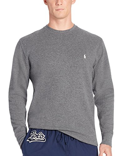 Polo Ralph Lauren Waffle-Knit Crew (P551) L/Charcoal Heather