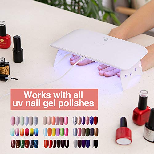 Micropure Gel UV LED Nail Dryer Lamp