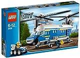 LEGO City - 4439 - Jeu de Construction - L'Hélicoptère de Transport