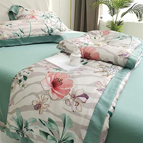 Houmel - Manta de verano para sofá o cama (duvet de 1,5 tog, 100% algodón, 220 x 240 cm)
