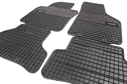 Goma Comfort Line–Juego de alfombrillas para felpudos Allwetter Fácil de Limpiar amplificación de goma en pedal Rango