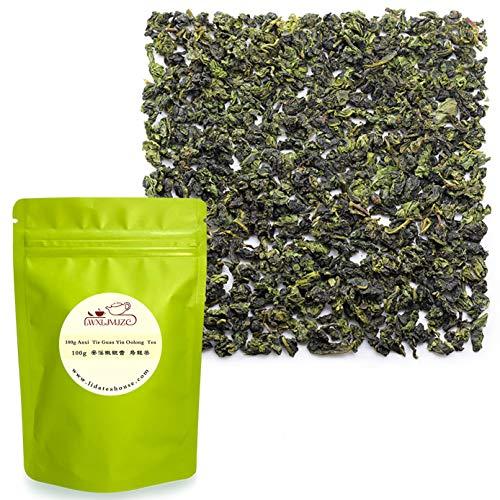 ZJZ 2019年 清香型 鉄観音茶 中国茶 ウーロン茶 烏龍茶 Tie Guan Yin Oolong Tea 100g 花の香り