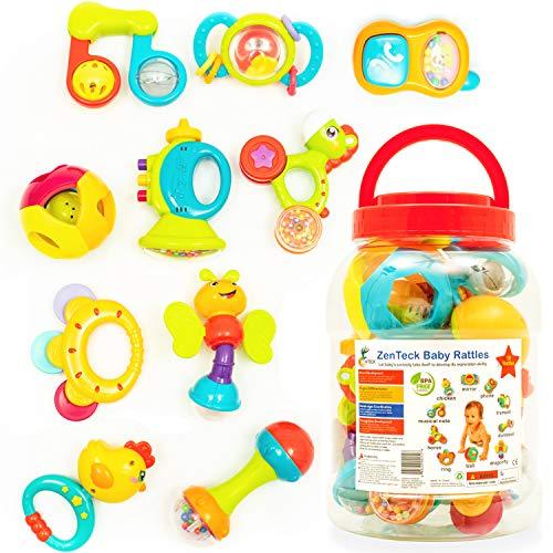 Zenteck Multi-Sensory BPA-Free Baby...