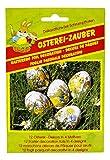 CharmingBoxes - Pellicola per uova di Pasqua, per 12 uova, 4 motivi, decorazione pasquale