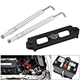 PQY Battery Tie Down Kit Hold Down Rod with Stainless Tray Hooks Compatible with...