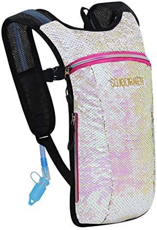 Sojourner Hydration Pack Backpack 2L Water Bladder Included for Festivals Raves Hiking Biking product image