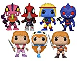 Funko Pop! Television: Masters of The Universe Series 3 Collectible Vinyl Figures, 3.75' (Set of 7)