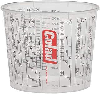 50 x COLAD Mischbecher mit Maßstab 1400 ml LACK FÜLLER   Becher ohne Deckel
