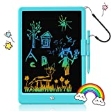 EARYA LCD Writing Tablet, 10 Inch Colorful Doodle Board Drawing Tablet for Kids, Lightweight Electronic Drawing Pads, Toddler Gifts Educational Toys for 2 3 4 5 6 Years Old Girls and Boys (Blue)