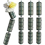 Bright Creations 12-Piece Floral Wet Foam Garland for Fresh Flowers, 2 x 5 Inches Each