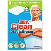 Mr. Clean PAG27141 Magic Eraser Bathroom Scrubber 2 per Box, White