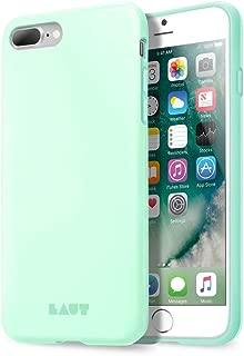 LAUT iPhone 8 Plus/7 Plus/6 Plus Case Huex, Mint Green - Durable