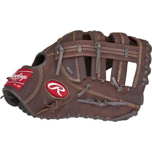 Rawlings Sporting Goods Player Preferred Fist Base Mitts, Brown, Size 12.5, Left Hand