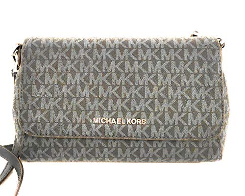 Michael Kors Umhängetasche blau 21x15x7cm neu Leder mit