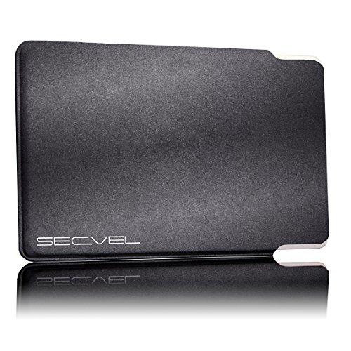 TÜV geprüfte und patentierte Schutzhülle 5-Fach Kartenschutz - Meteor | RFID NFC Blocker | Magnetfeld Abschirmung | Störsender für Kreditkarte, EC Karte, Personalausweis | 100% Aktiv Schutz